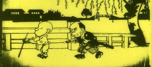 Uno de los primeros anime de la historia