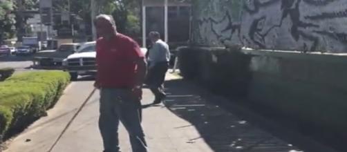 Foto obtenida del video de los Supercívicos