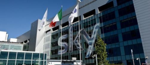 La sede di Sky Italia a Milano.