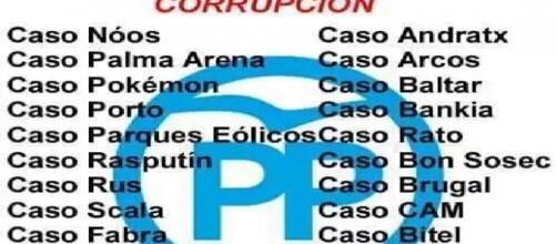 Los casos de corrupción del PP