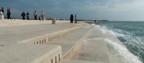 O Órgão do Mar de Zadar na Croácia