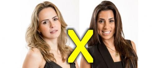Paredão entre Ana Paula e Juliana no BBB16