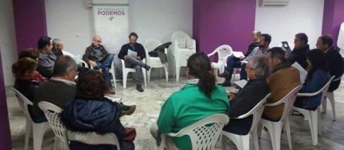 Reunión de un Circulo Sectorial de Podemos.