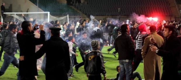 A Polícia portugua teve mesmo que intervir