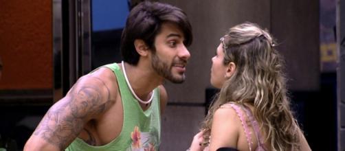 O clima esquentou entre Renan e Ana Paula