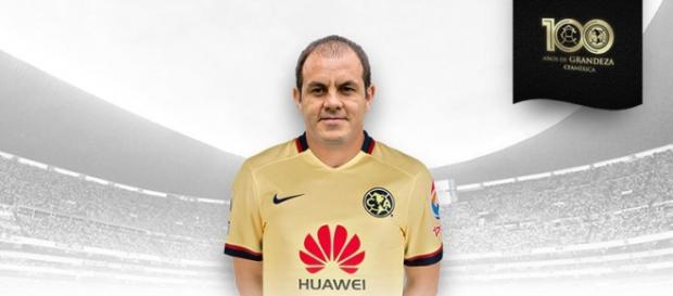 Cuauhtémoc Blanco jugará con América ante Monarcas