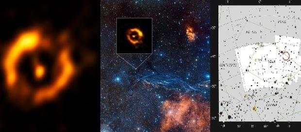 Discos de polvo alrededor de IRAS 08544-4431