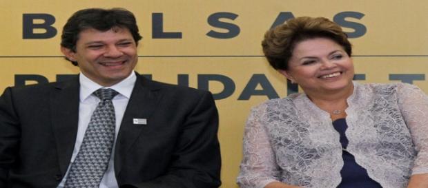 Haddad criticou o governo Dilma Rousseff