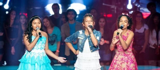 Júlia Ferreira, Laura Schadeck e Jamille Silva