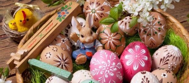 Le uova di cioccolato tipiche di Pasqua