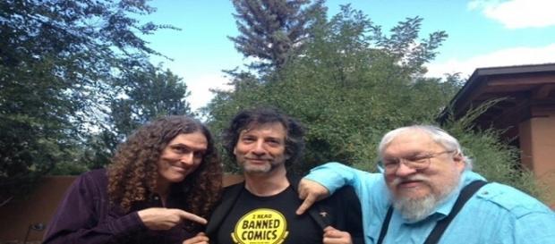 Los escritores en la #BannedBooksWeek. NEIL GAIMAN