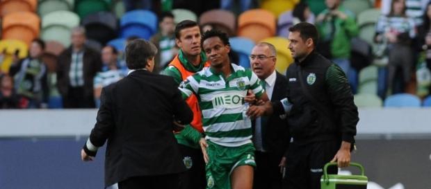 O Sporting instaurou um processo contra Carrillo