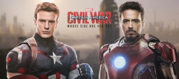 Presentan un nuevo banner de Stark y Steve Rogers