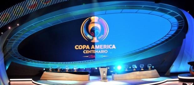 Se realizó el sorteo de la Copa América Centenario