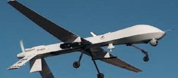 Uno dei droni Usa che partiranno da Sigonella