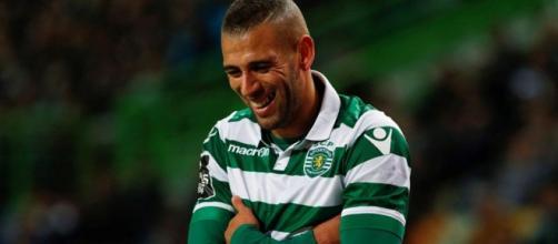 Slimani pode memso falhar o jogo contra o Benfica