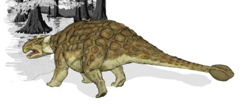 The Doedicurus resembled the Ankylosaurus.