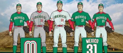 Uniformes para México en el Clásico Mundial 2017