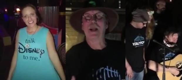 Anne und Vaddi feierten ausgelassen Youtopia