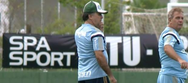 Marcelo Oliveira, técnico do Palmeiras, no CT.