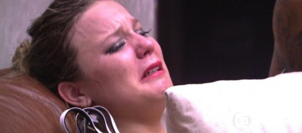 Maria Claudia chora no BBB - Foto/Reprodução