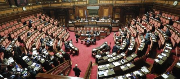 Un'immagine del Senato durante una seduta
