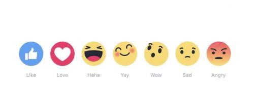 Con le facebook Reactions il like non è più solo