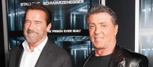 Los dos actores en foto promocional.