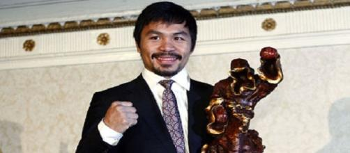 Manny Pacquiao es candidato a senador en Filipinas