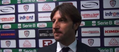 Mister Rastelli, tecnico del Cagliari Calcio