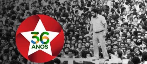 Partido dos Trabalhadores celebra 36 anos
