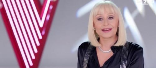 Raffaella Carrà giudice di The Voice