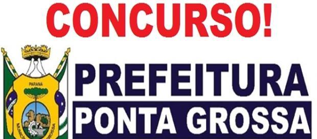 Concurso em Ponta Grossa-Pr com 62 vagas