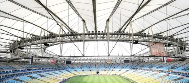 El Estadio Maracaná se prepara para la gran cita