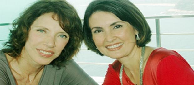 Marília Gabriela e Fátima Bernardes - Foto/Face