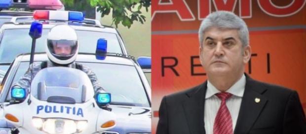 Oprea a fost denunțat de trei ofiteri MAI