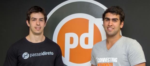Os idealizadores André Simões e Rodrigo Salvador.