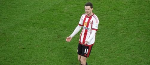 Adam Johnson playing for Sunderland (Wikipedia)