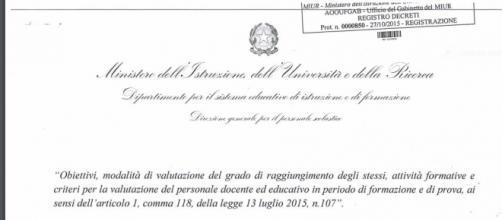 Decreto formazione neoassunti: standard richiesti