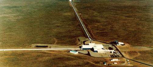 Estación LIGO donde se efectúan las pruebas