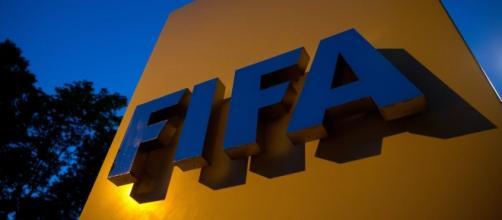 Logo oficial del máximo organismo de fútbol, FIFA.