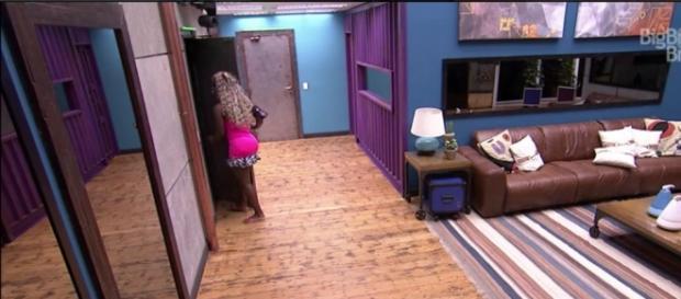 Adélia desiste do BBB16 (Reprodução Globo)