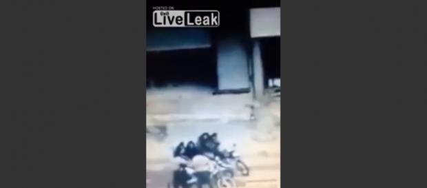 Bojownicy ISIS nie przeżyli wybuchu pocisku.