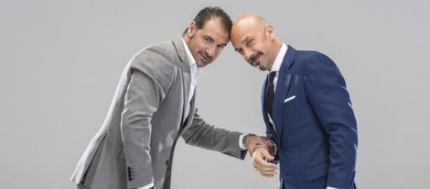 Gianluca Vialli e Lorenzo Amoruso