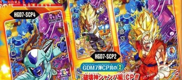 Gokú, Vegeta y Frost aparecen en la V Jump