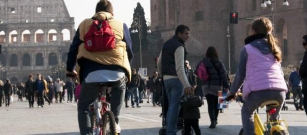 Stop auto Roma domenica 28 febbraio