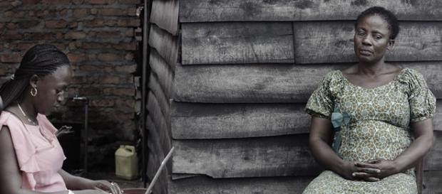 Sufrimiento diario en el Congo.Foto de la muestra
