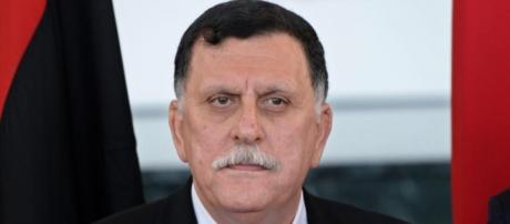 Il designato premier libico, Fayez al-Serraj