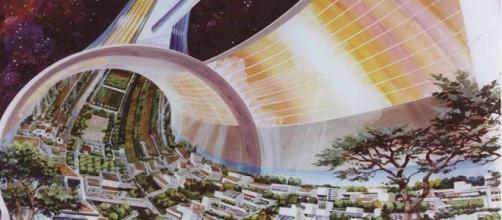 Fotografía posible edificación espacial