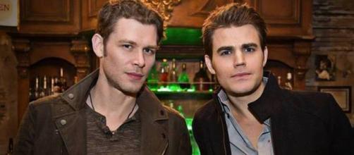 Klaus e Stefan. The Vampire Diaries 7x14